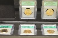 2007 ICG MINT STATE 67/64 5 COIN SET OF WASHINTON QUARTERS         ITEM  1257