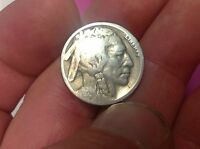 1921-S US BUFFALO NICKEL LOW MINTAGE, BETTER DATE , US 5 CENT, RESTORED DATE