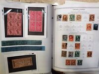 SCOTT MINUTEMAN ALBUM- $166.00 MINT FACE VALUE & USED U.S. STAMPS. PAGES TO 1985