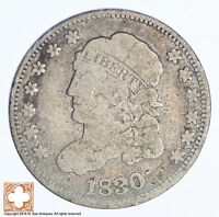 1830 CAPPED BUST HALF DIME 6145
