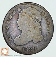 1830 CAPPED BUST DIME 0545
