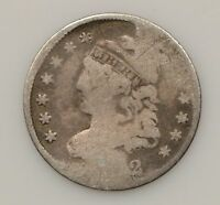 1832 CAPPED BUST SILVER HALF DIME G83