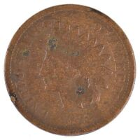 1873 INDIAN HEAD ONE CENT J88