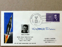 MERCURY 8 WALLY SCHIRRA LAUNCH COVER