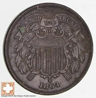 1864 TWO CENT PIECE 1703