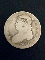 1826 CAPPED BUST HALF DOLLAR   AG EXAMPLE OF A BEAUTIFUL SERIES