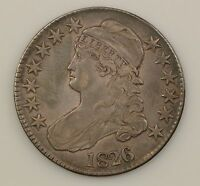 1826 CAPPED BUST HALF DOLLAR G19