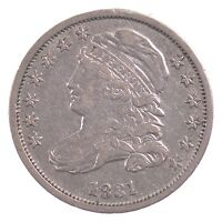 1831 CAPPED BUST DIME J11