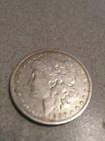 1880 MORGAN SILVER DOLLAR .900 SILVER