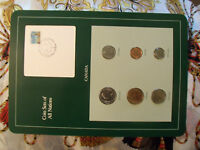 COIN SETS OF ALL NATIONS CANADA W/CARD 1985   1988 $1 DOLLAR DUCK 1988 UNC