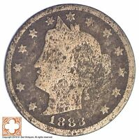 1883 LIBERTY V NICKEL   WITH CENTS XB38