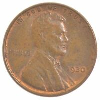 1930 LINCOLN WHEAT EARS CENT J02