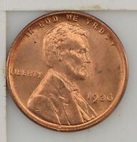1936 LINCOLN WHEAT EARS CENT Z19