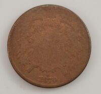 1870 TWO-CENT PIECE G28