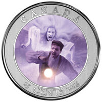 2016 25 CENT COIN HAUNTED CANADA: BELL ISLAND