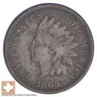 1865 INDIAN HEAD CENT - CIVIL WAR ERA YB57