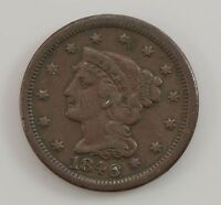 1846 LIBERTY HEAD SMALL DATE LARGE CENT G54