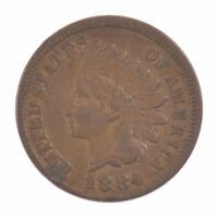 1884 INDIAN HEAD ONE CENT Z28