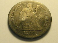 1888 P SEATED LIBERTY DIME NICKS & SCRATCHES