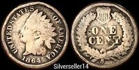 1864 CN INDIAN HEAD CENT 400