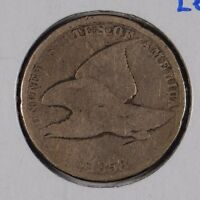 1858 1C SMALL LETTERS FLYING EAGLE CENT GOOD CONDITION 161508