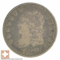 1830 CAPPED BUST HALF DIME 1145