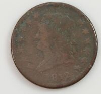 1812 CLASSIC HEAD LARGE DATE LARGE CENT G29