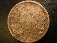 1812 CLASSIC HEAD LARGE CENT, SMALL DATE, FINE TO  FINE DETAILS