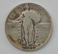 1927-S STANDING LIBERTY SILVER QUARTER DOLLAR Q89
