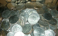 LOT OF 100 KENNEDY HALF DOLLARS 1971 AND LATER MIXED DATES AND MINT MARKS