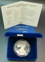 2013-W PROOF AMERICAN SILVER EAGLE COIN .999 1 TROY OUNCE