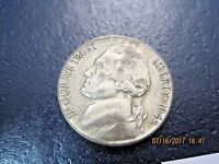 1945S VF  JEFFERSON SILVER WAR NICKEL JN0724   49 CENT SHIPPING