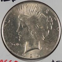 1926 $1 PEACE DOLLAR MINT STATE 162638