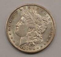 1887-S MORGAN SILVER DOLLAR Q21