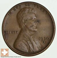 1930-S LINCOLN WHEAT CENT 2229