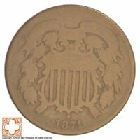 1871 TWO CENT PIECE XB41