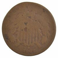 1867 TWO-CENT PIECE J92