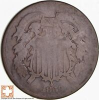 1869 TWO CENT PIECE 4576