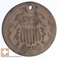 1865 TWO CENT PIECE CONDITION: HOLE YB41