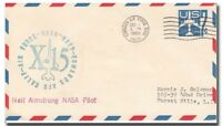 X-15 NEIL ARMSTRONG LAUNCH COVER EAFB 9.12.1960  - 8F115