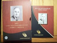 2015 P HARRY TRUMAN PRESIDENTIAL COIN & CHRONICLES SET REVERSE PROOF SILVER AX40