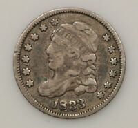 1833 CAPPED BUST SILVER HALF DIME G81