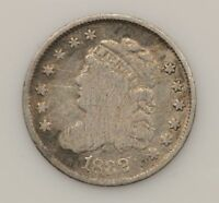 1832 CAPPED BUST SILVER HALF DIME G39