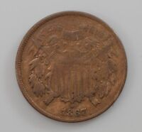 1867 TWO CENT PIECE  Q88
