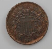 1865 TWO CENT PIECE  Q71