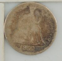 1891 LIBERTY SEATED DIME  Z95