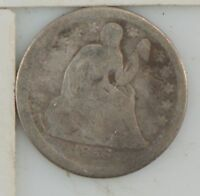 1856 LIBERTY SEATED DIME  Z52