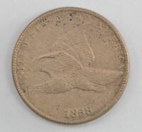 1858 FLYING EAGLE ONE CENT 545