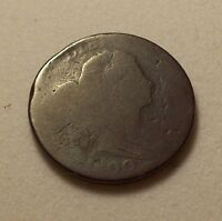 1800 DRAPED BUST LARGE CENT   AG    1 C COPPER ONE US COIN
