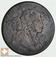1802 DRAPED BUST LARGE CENT  1823